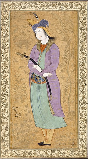 Riza-i Abbasi Young Man with a Sword - Detroit Institute of Arts.jpg