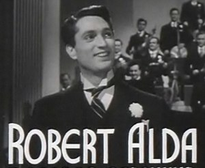 Robert Alda - Alda in the trailer for Rhapsody in Blue in 1945