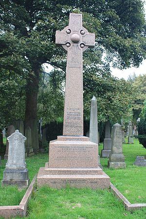 Robert Chambers Jr. - Robert Chambers' grave, Dean Cemetery