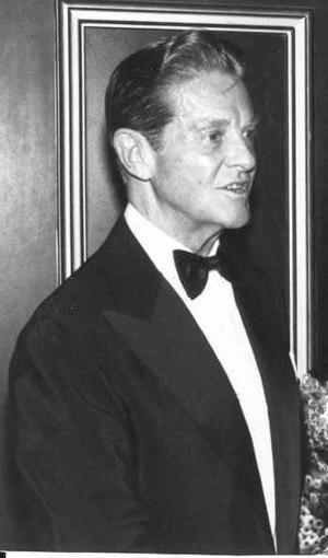 Schauspieler Robert Cummings
