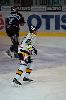 Robert Reichel-Fribourg-Gottéron vs. HC Litvinov, Exhibition game, 20th February 2010.jpg