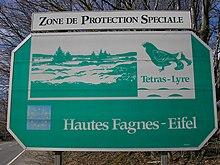 Cartello di confine dell'omonimo Parco nazionale