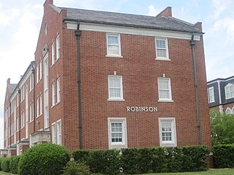 Colonial Revival architecture - Image: Robinson Hall at LA Tech IMG 3763