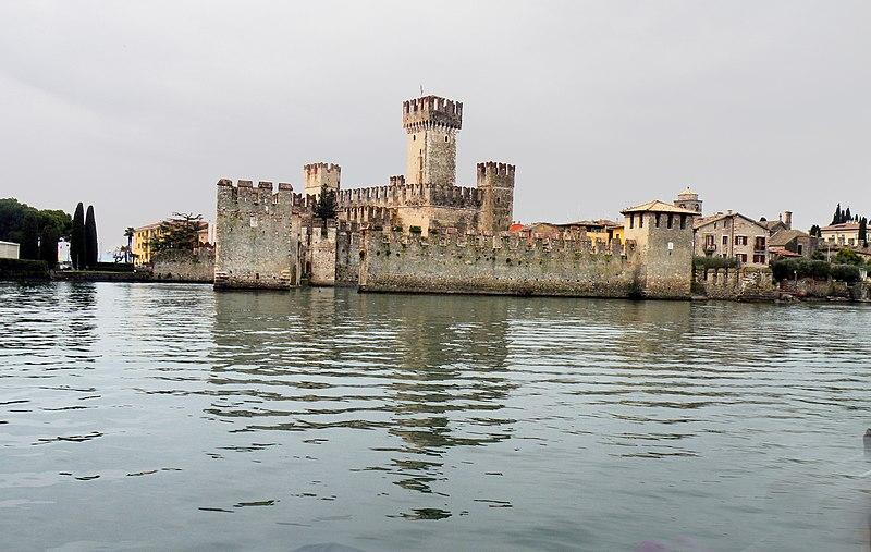 Rocca Scaligera Castle, Lake Garda