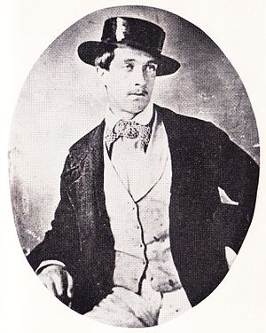Tichborne case - Roger Tichborne: one of two daguerrotypes taken in South America in 1853–54