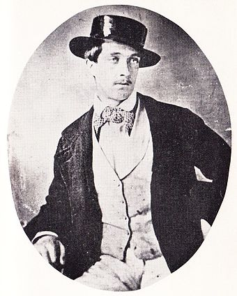 Roger Charles Tichborne: one of two daguerrotypes taken in South America in 1853-54 RogerTichborne.jpg