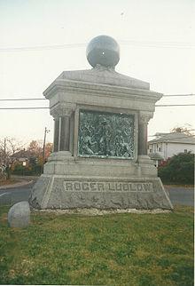 Roger Ludlow Monument.jpg