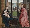 Rogier van der Weyden - St Luke Drawing a Portrait of the Madonna - WGA25583.jpg