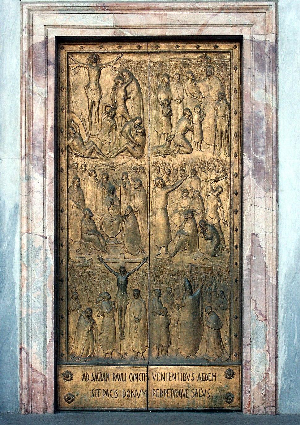 Rom, Sankt Paul vor den Mauern (San Paolo fuori le mura), Heilige Pforte