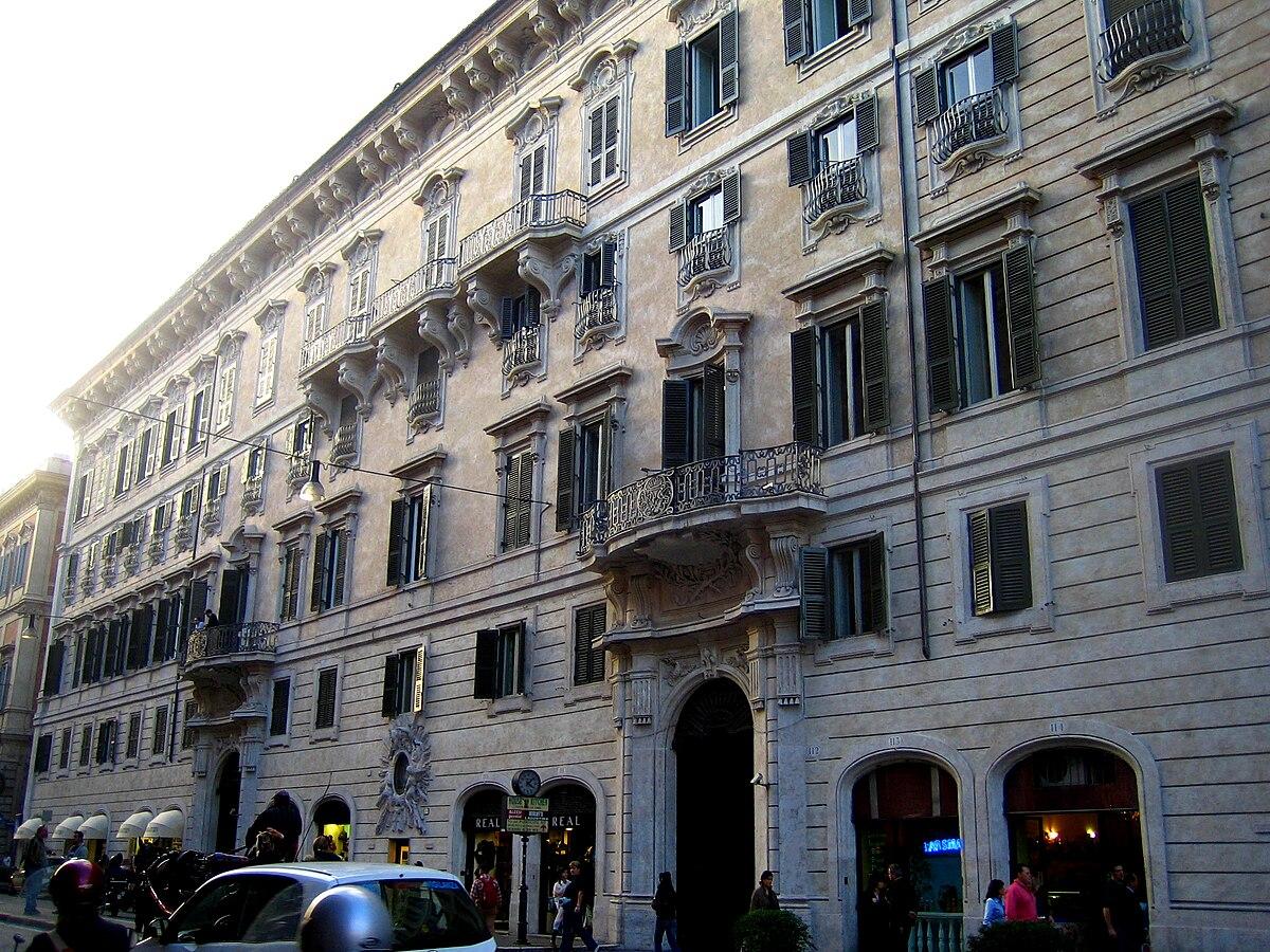 Palazzo doria pamphilj wikip dia a enciclop dia livre for Bershka roma via del corso