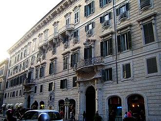 Via del Corso - Palazzo Doria Pamphili
