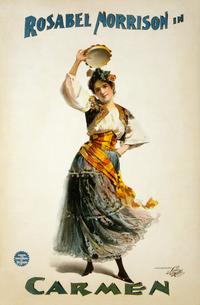 Georges Bizet - Rosabel Morrison - Carmen poster.png