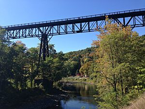 Wallkill Valley Railroad - Rosendale trestle Walkill Valley Rail
