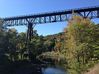 Wallkill Valley Railroad - Rosendale trestle Walkill Valley Rail