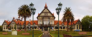 Rotorua - The Rotorua Museum of Art and History