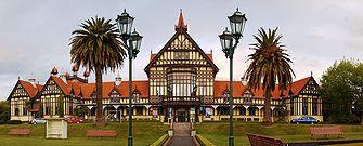 The Rotorua Museum today...