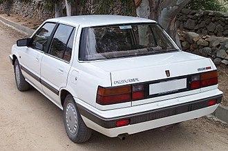 Rover 200 / 25 - Rover 213 SE, Rear