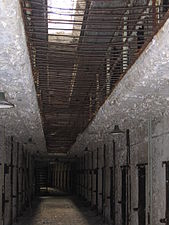 Row of Cellblocks, Eastern State Penitentiary.JPG