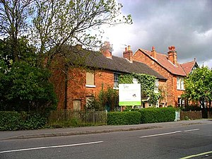 Mickleover - Image: Row of Cottages on Station Road, Mickleover geograph.org.uk 80309