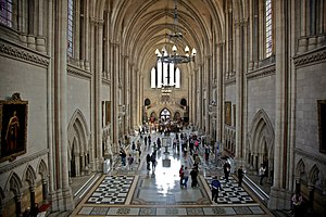 Royal Courts of Justice - The Great Hall