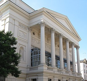 English: Royal Opera House at Covent Garden in...