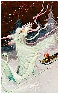 The Snow Queen Fairy tale by Hans Christian Andersen