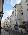 Rue de Beauregard vue de l'église vers le boulevard.jpg