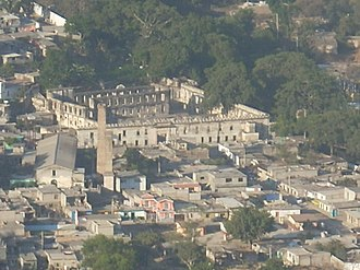 Tepic - View of the ruins of Jauja
