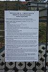 Rules of Cemetery in Sanok-Dąbrówka (2016).jpg