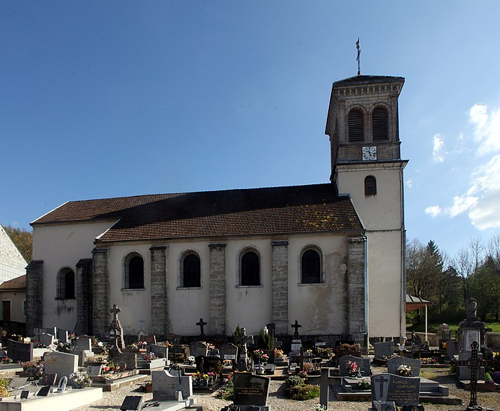 Église de Rurey (Doubs).