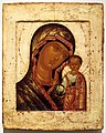 Russia, icona con la madre di dio di kazan, 1700 ca.jpg