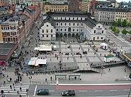 Ryssgården Stockholm From Above 2005-06-06