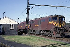 1984 in South Africa - Class 6E1, Series 11 no. E2185