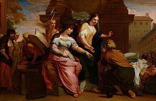 Allegorie op de Verzorging in het Oude Mannen- en Vrouwengasthuis