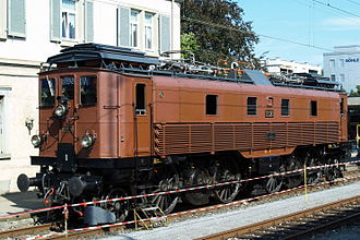 SBB-CFF-FFS Be 4/6 12303-12342 - Be 4/6 number 12320