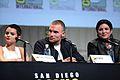 SDCC 2015 - Brianna Hildebrand, Ed Skrein & Gina Carano (19570414229).jpg