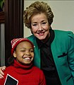 SENATOR DOLE AND JESSICA HOLMES AT HOLIDAY PARTY.jpg