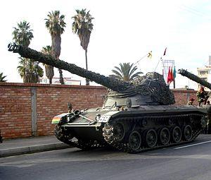Bolivian Army - Bolivian SK-105 Kürassier light tank.