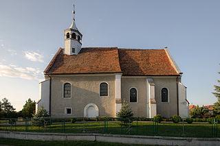 Osiek Grodkowski Village in Opole Voivodeship, Poland