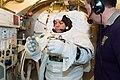 STS-123 Behnken EMU fit check 2.jpg