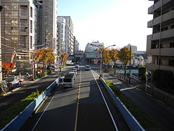 SW of Mitaka Station.jpg