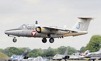 Saab 105 - Saab 105 Oe trainer of the Austrian Air Force at the 2017 RIAT, England