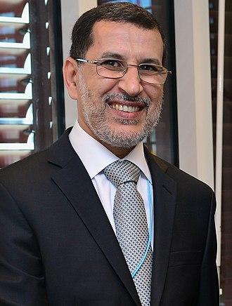 Saadeddine Othmani - Image: Saad Dine El Otmani (cropped)