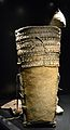 Sac de transport de pell bovina, segle XIII aC. Mina de sal de Hallstatt.JPG