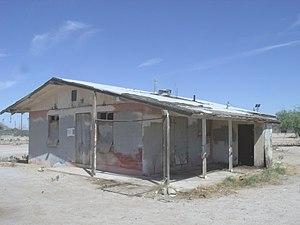 Sacaton, Arizona - Image: Sacaton Ols Sacaton House 1920