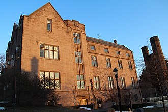 Yale School of Forestry & Environmental Studies - Sage Hall, completed in 1924