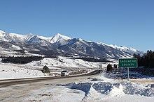 Hwy 285 Colorado Map.U S Route 285 In Colorado Wikipedia