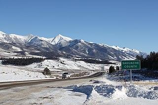 Saguache County, Colorado County in Colorado, US