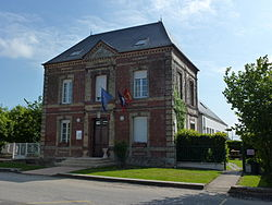 Saint-Éloi-de-Fourques (Eure, Fr) mairie.JPG