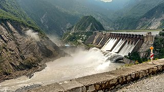 Salal Dam dam in Jammu and Kashmir